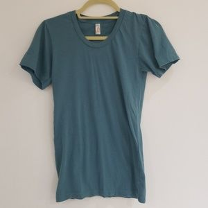 American Apparel the Summer Shirt Loose Crew XS